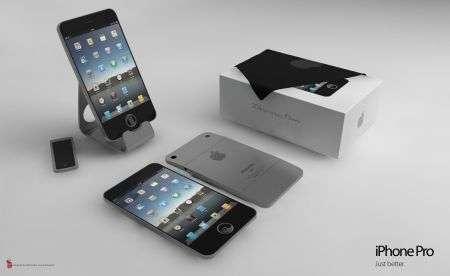 iPhone Pro: concept scorrevole