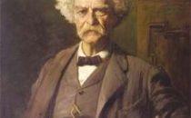 Mark Twain filmato nel 1909 da Thomas Edison, su Youtube