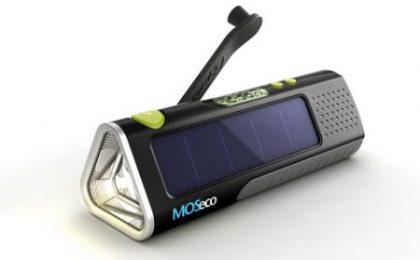MOSeco ES905: caricabatterie ecologico universale