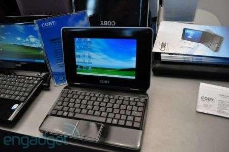Netbook Coby NBPC722 da 85$
