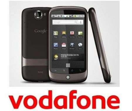 Nexus One Vodafone: prezzo italiano in abbonamento
