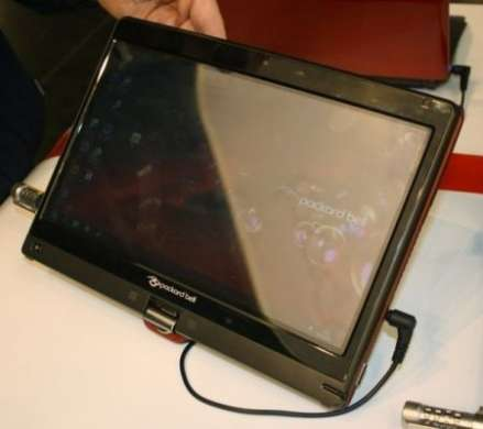Packard Bell EasyNote Butterfly Touch