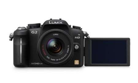 Fotocamere Panasonic Lumix DMC-G2 e G10 Micro Quattro Terzi