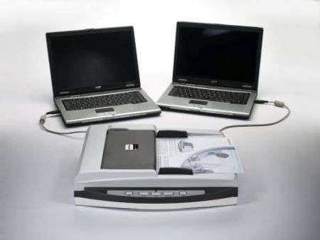 Plustek SmartOffice PL1530: scanner condiviso su due PC