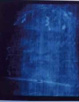 sindone ultravioletto