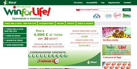 Win for Life online: gioca e vinci anche da Internet
