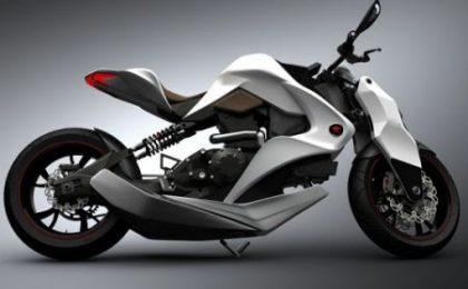 Izh: moto ibrida con display 3D