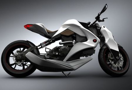 Izh: moto ibrida con display 3D