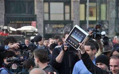 iPad debutto soft: niente code per acquistarlo