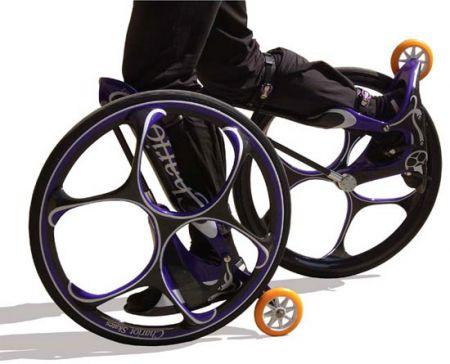 Chariot Skates: pattini con ruote giganti