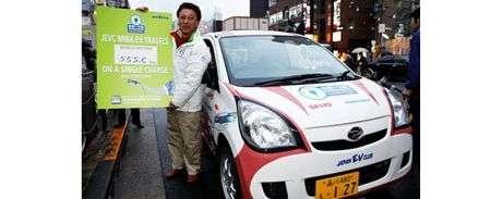 Sanyo: le sue batterie stilo spingono un'auto per 555 km!