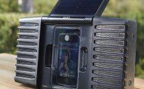 Altoparlanti per iPhone a energia solare