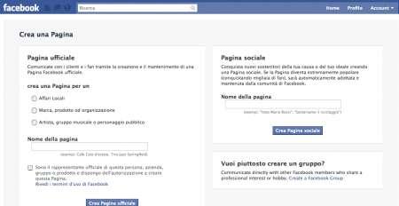 Facebook Pagina Sociale cos'è e come funziona
