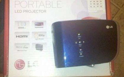 LG Portable LED Projector: la nostra prova