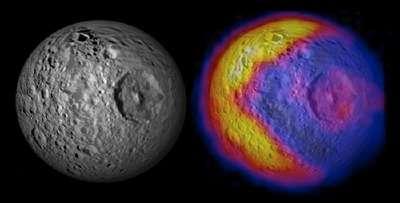 Mimas o Pacman? La buffa luna di Saturno