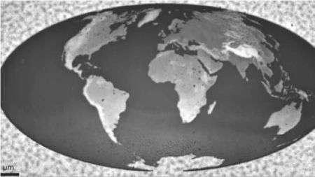 La più piccola mappa 3D della Terra