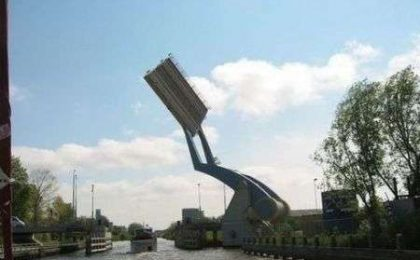 Ponte volante olandese: il vero Transformer!