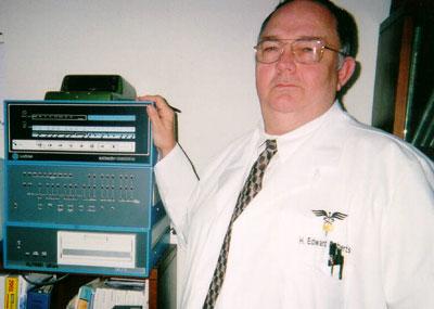 H. Edward Roberts muore l'inventore del primo computer