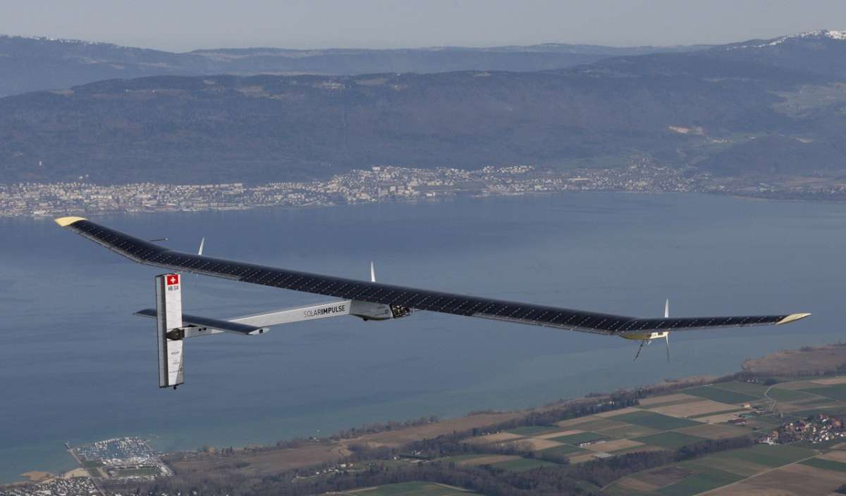 Solar Impulse: primo volo in Svizzera