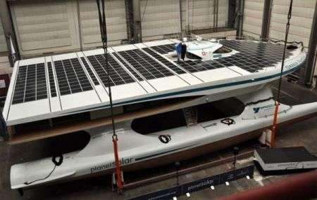 Catamarano solare Planet Solar al via i test