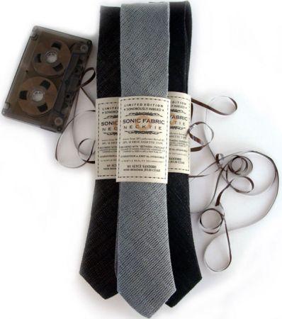 sonic fabric cassette cravatte