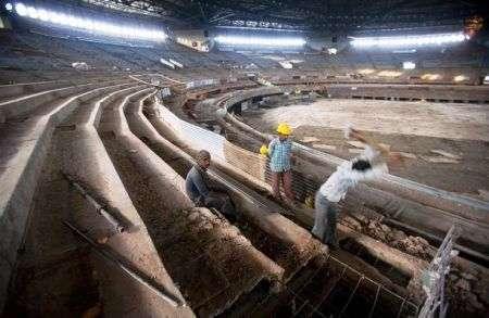 Thyagaraj: lo stadio indiano davvero green
