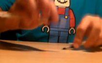 Super Mario Theme suonato con le matite