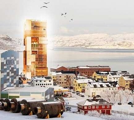 La più alta struttura di legno, in Norvegia