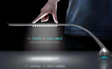 "La lampada ""iPhone"": regola l'intensità col multitouch"