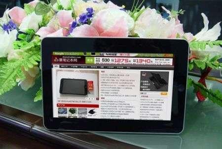 Clone iPad con Android dalla Cina