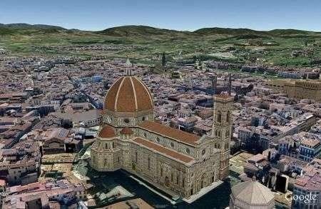 Google Earth: Venezia e Firenze in 3D