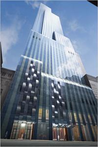 Grattacielo residenziale da record a New York in costruzione