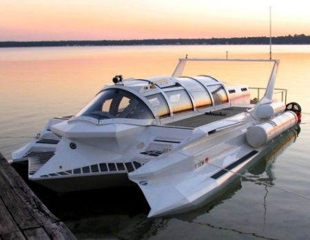 Hyper-Sub: ibrido nave-sommergibile in vendita