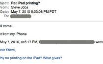 iPad potrà stampare presto, parola di Steve Jobs