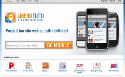 Libero Tutti trasforma il tuo sito/blog in versione mobile