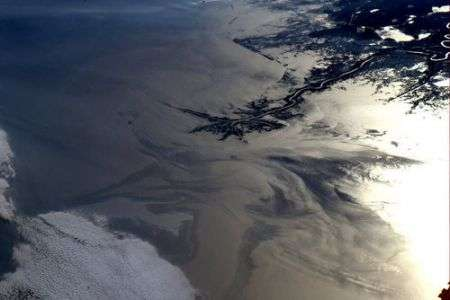 Astronauta fotografa dallo spazio il petrolio nel golfo del Messico, ecco lo scatto!