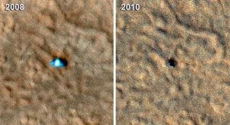 La NASA dà addio alla sonda Phoenix che studiava Marte