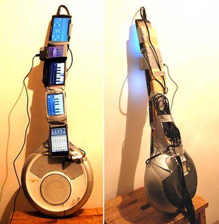 phone guitar
