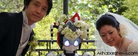 Robot celebra matrimonio in Giappone, il video!