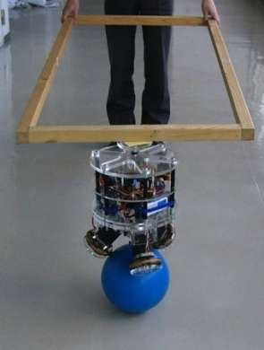 Il Robot equilibrista irribaltabile