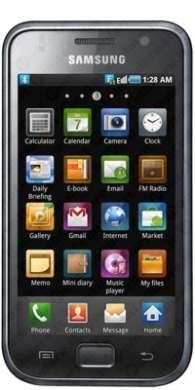 Samsung Galaxy S: scorpacciata di video anteprime