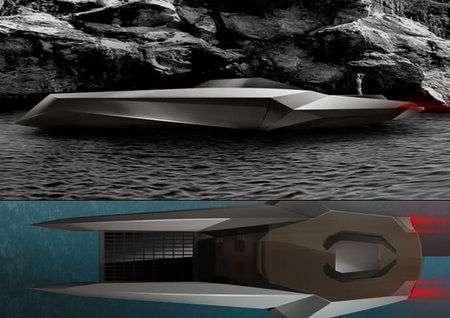 The Cut: super barca che apre in due il mare come Mosè
