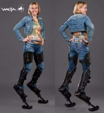 Weta Legs per diventare satiri caprini