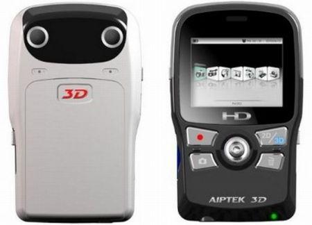 Videocamera 3D economica Aiptek: gira il remake di Avatar in casa!