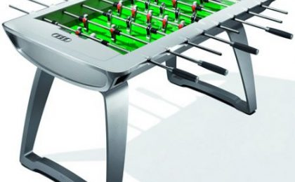 Il calcio balilla di Audi: tecnologico e stiloso
