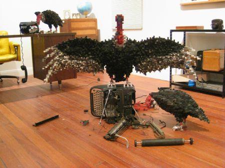 avvoltoi macchina