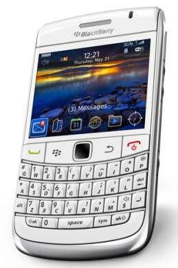 Blackberry Bold 9700 elegante in bianco, con speciale offerta Vodafone