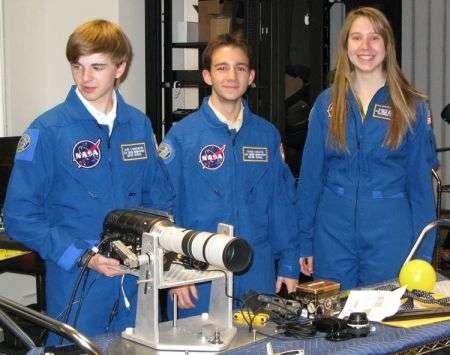 Studenti filmano disintegrazione di una sonda spaziale, video!