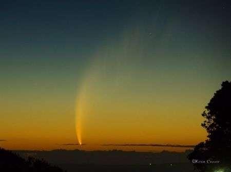 Cometa McNaught visibile a occhio nudo il 15-16 giugno 2010
