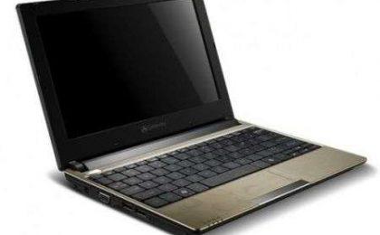 Gateway LT23 il netbook si aggiorna